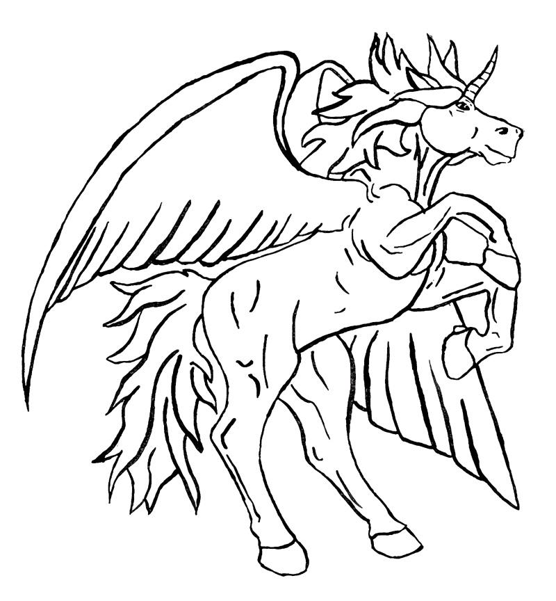 beyblades pegasus coloring pages - photo#23